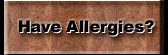 Allergies and Hardwood Floor